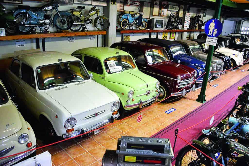 Im Winter geöffnet: Villacher Fahrzeugmuseum in Österreich