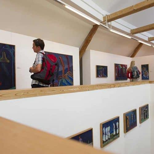 Kunstausstellung Werner Berg Museum - Ausflugsziel in Südkärnten, Österreich