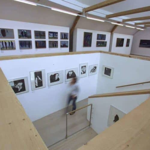 Sehenswürdigkeit Werner Berg Museum in Südkärnten Nähe Klopeiner See