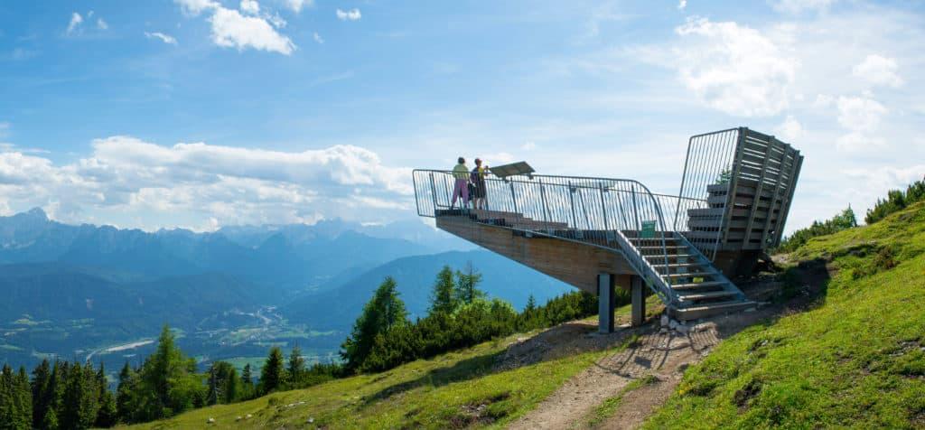Aussichtsplattform Naturpark Dobratsch - Sehenswertes Villach Urlaubsregion