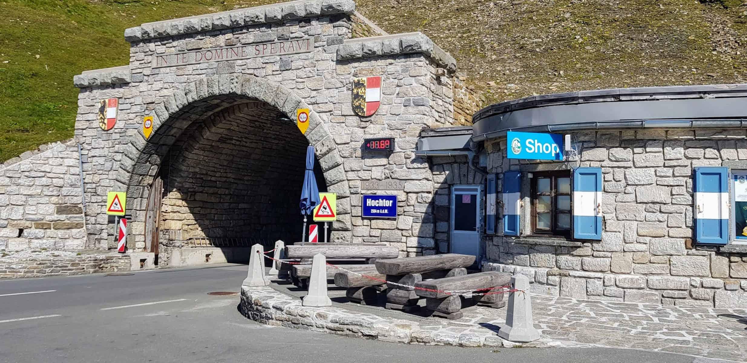 Hochtor Passhöhe Großglockner Hochalpenstraße - Grenze zwischen Kärnten & Salzburg