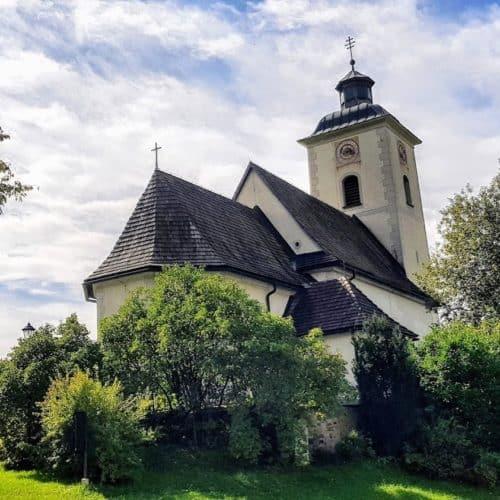 Kirche in Arriach - Wandern & Ausflugsziel in Kärnten Nähe Villach
