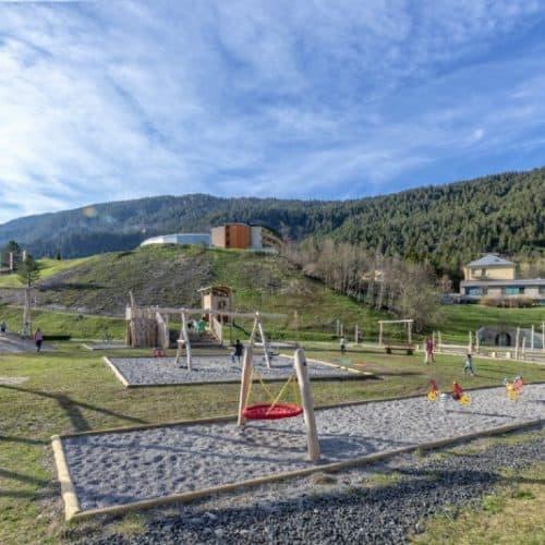 Generationenspielplatz Bad Bleiberg Nähe Villach - Kinderspielplatz und Ausflugsziel in der Region Villach, Kärnten