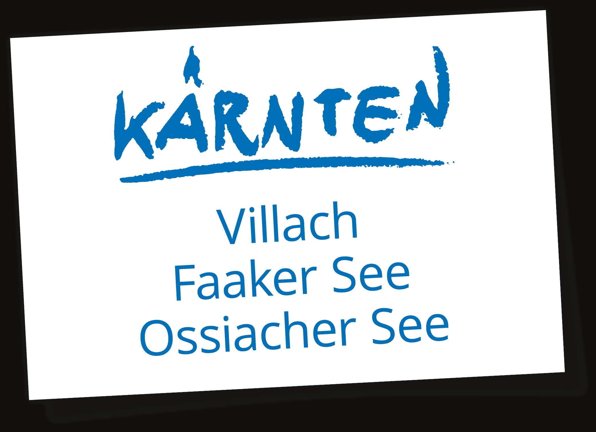 Sehenswürdigkeiten und Ausflugsziele in der Urlaubsregion Villach - Logo