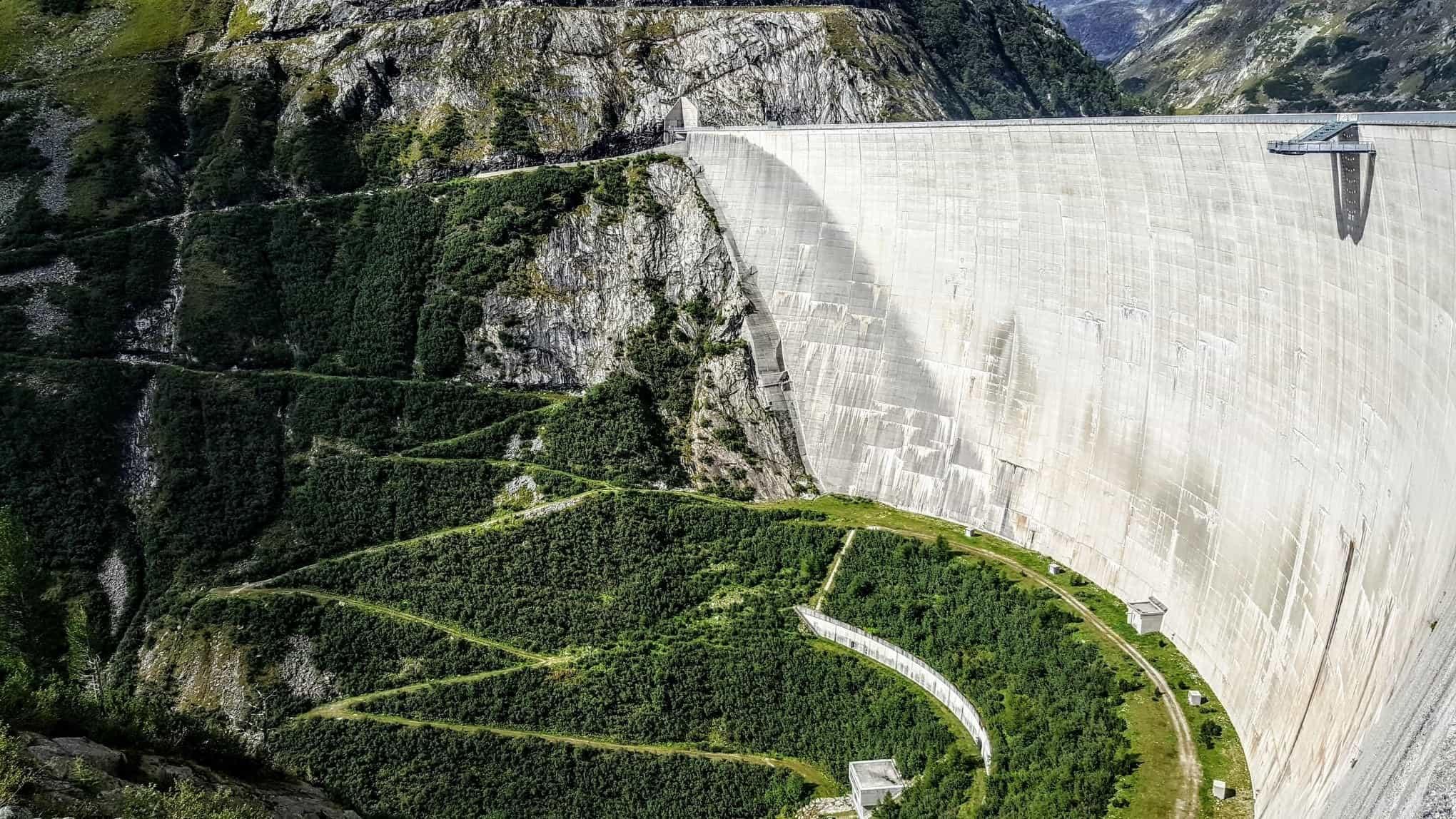 Kölnbreinsperre - höchster Staudamm in Österreich
