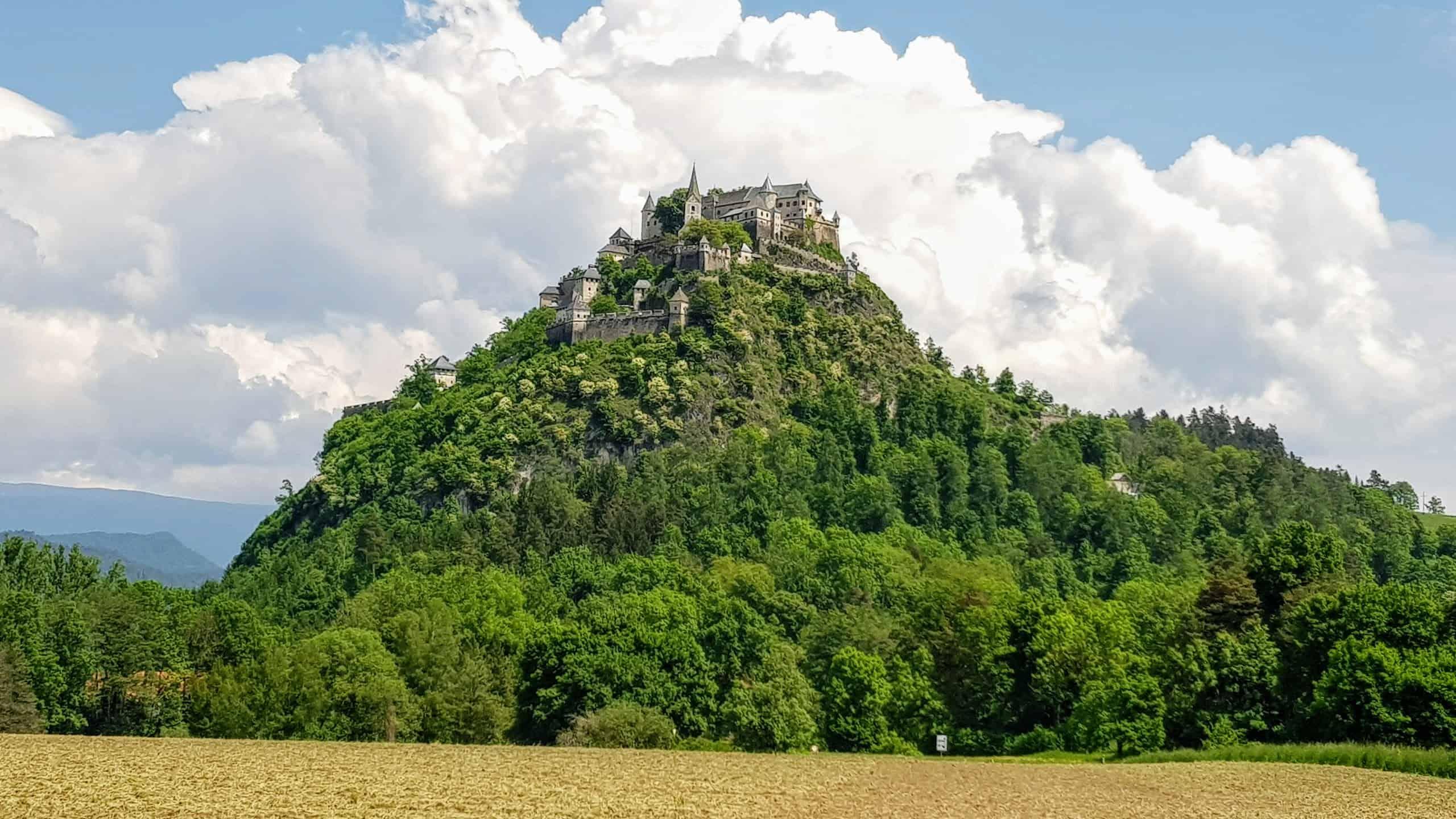 Burg Hochosterwitz in Österreich