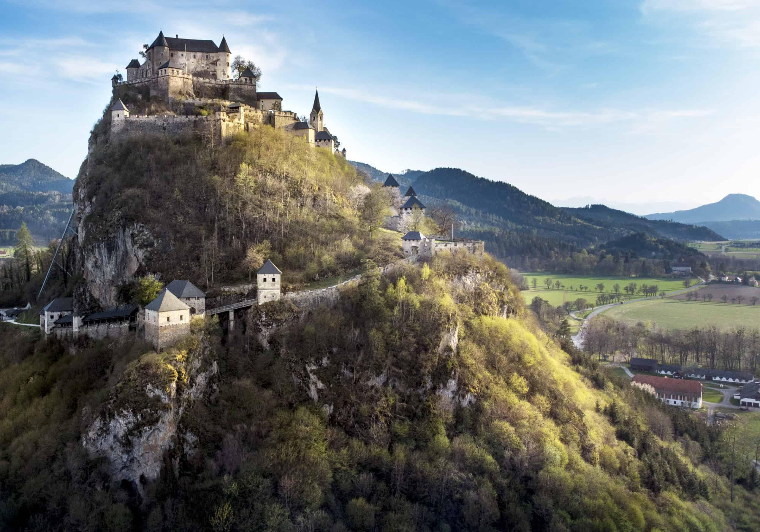 Burg Hochosterwitz Nähe Längsee in Kärnten