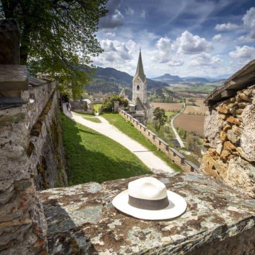 Frühling auf der Burg Hochosterwitz - Sehenswürdigkeit in Österreich