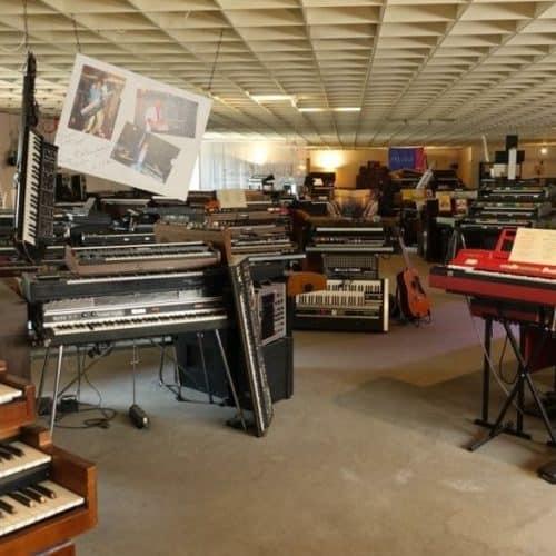Keyboards im Eboardmuseum Klagenfurt - geöffnet in Kärnten