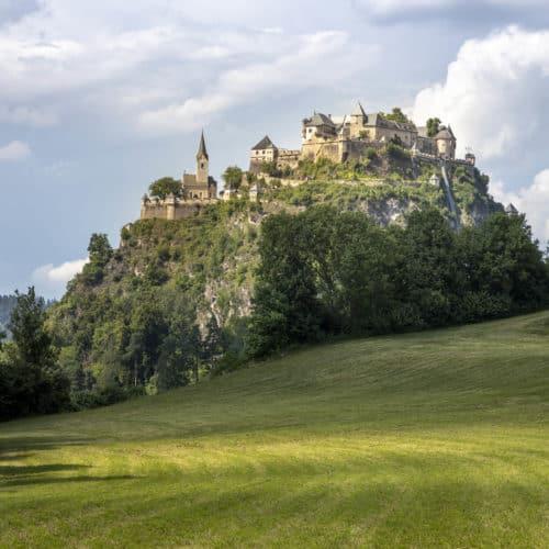 Burg Hochosterwitz in der Region Mittelkärnten Nähe Klagenfurt