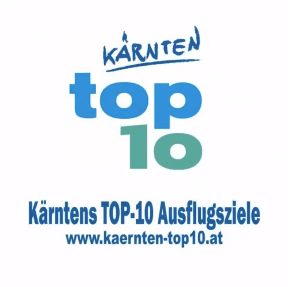 Kärntens geöffnete Sehenswürdigkeiten im Frühling April Mai - Logo Web Kontakt