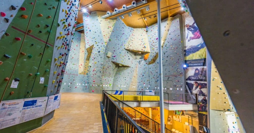 Regenwetter Indoor Kletterhalle Mühldorf Kärnten