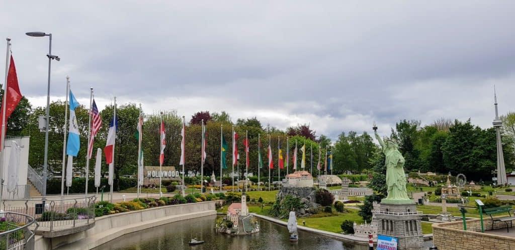 Minimundus in Klagenfurt bei Schlechtwetter
