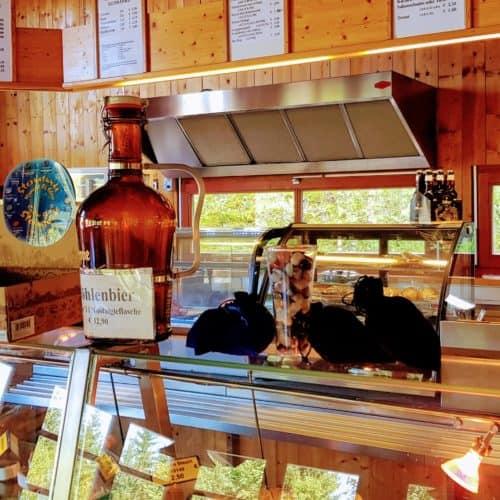 Shop in Obir Tropfsteinhöhlen - geöffnet in Kärnten