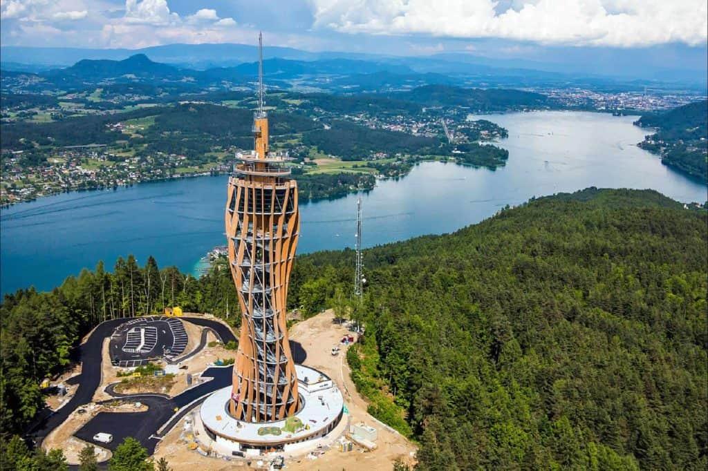Pyramidenkogel am Wörthersee TOP Ausflugsziel in Kärnten