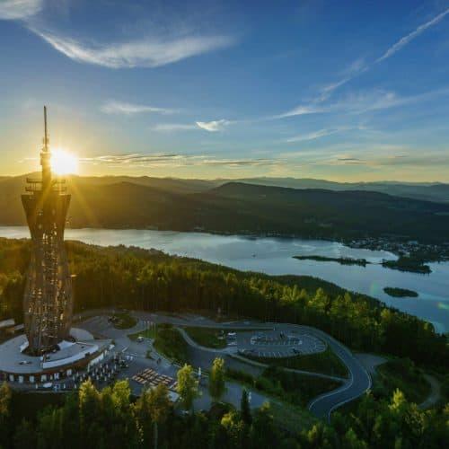 Pyramidenkogel am Wörthersee im Mai geöffnet