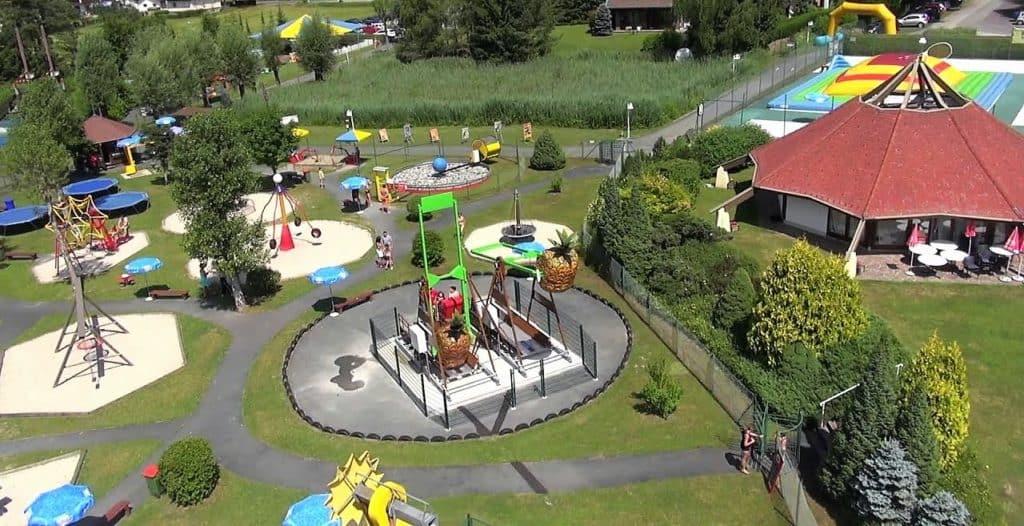 Action für die ganze Familie im (c) Erlebnispark Presseggersee