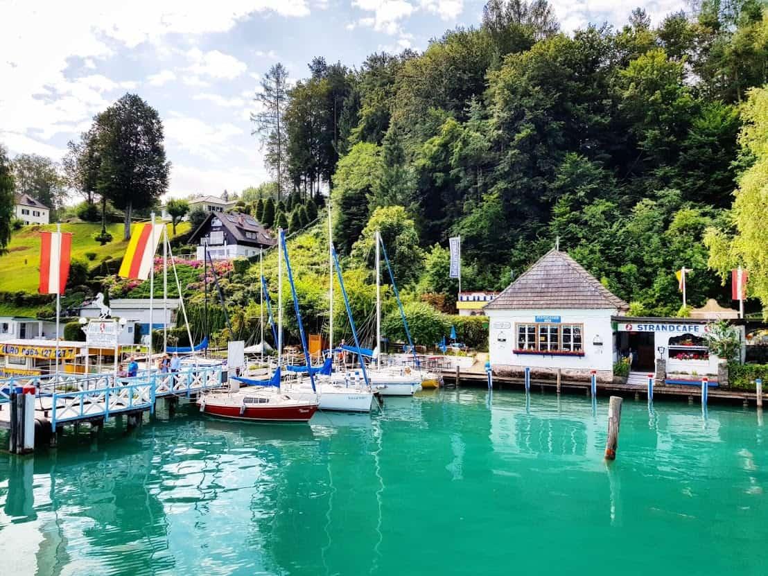 Wörthersee Schifffahrt Bootsfahrt als Freizeitaktivität in Kärnten