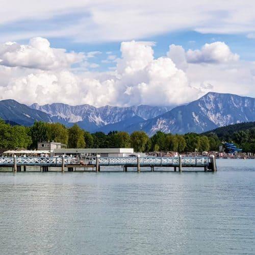 Wörthersee Ostbucht in Klagenfurt - Ausflugstipp in Kärnten
