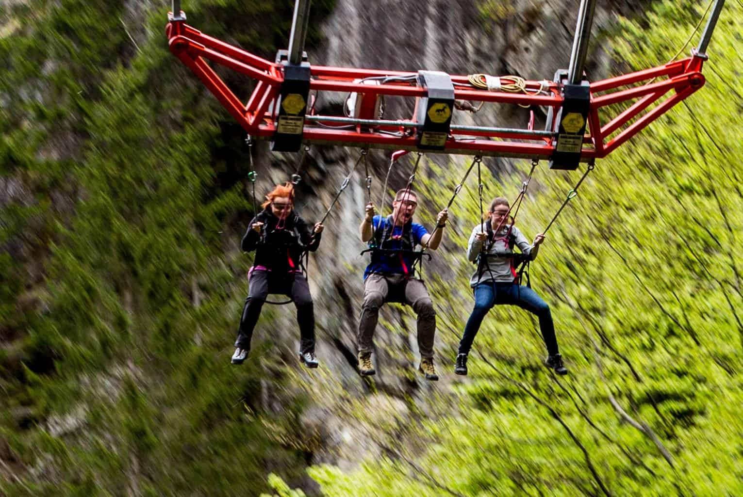 Fit & Fun Outdoor St. Lorenzen Mega Dive Riesenschaukel