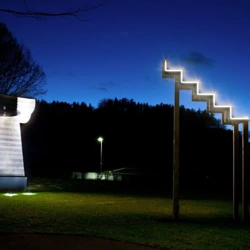 Skulpturenpark in der Carnica Region Rosental Nähe Wörthersee in Österreich