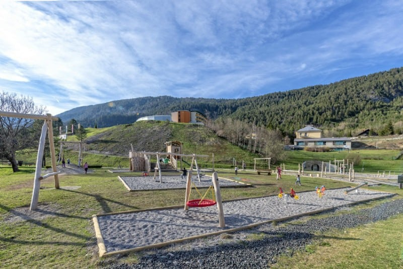 Familienausflugsziel Generationenspielplatz Bad Bleiberg Nähe Villach