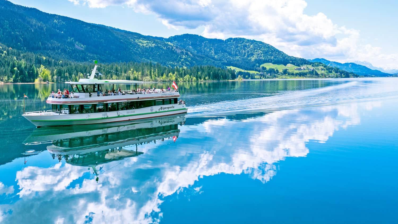 Weissensee Schifffahrt in Kärnten