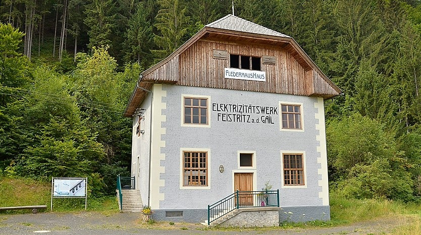 1. Österreichisches Fledermaushaus in Feistritz/Gail - Ausflugsziel in Kärnten