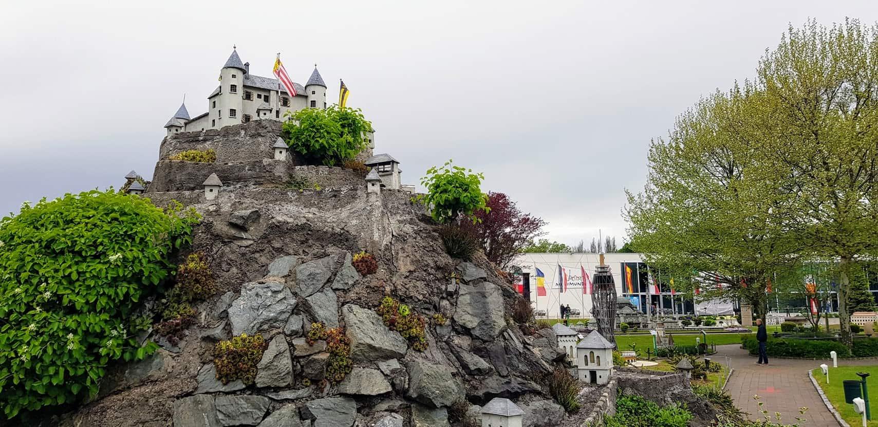 Burg Hochosterwitz in Minimundus - Sehenswürdigkeit in Klagenfurt