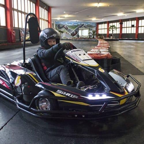 Indoor Ausflugsziele in Kärnten: Kartbahn Rosental in Kärnten, Österreich