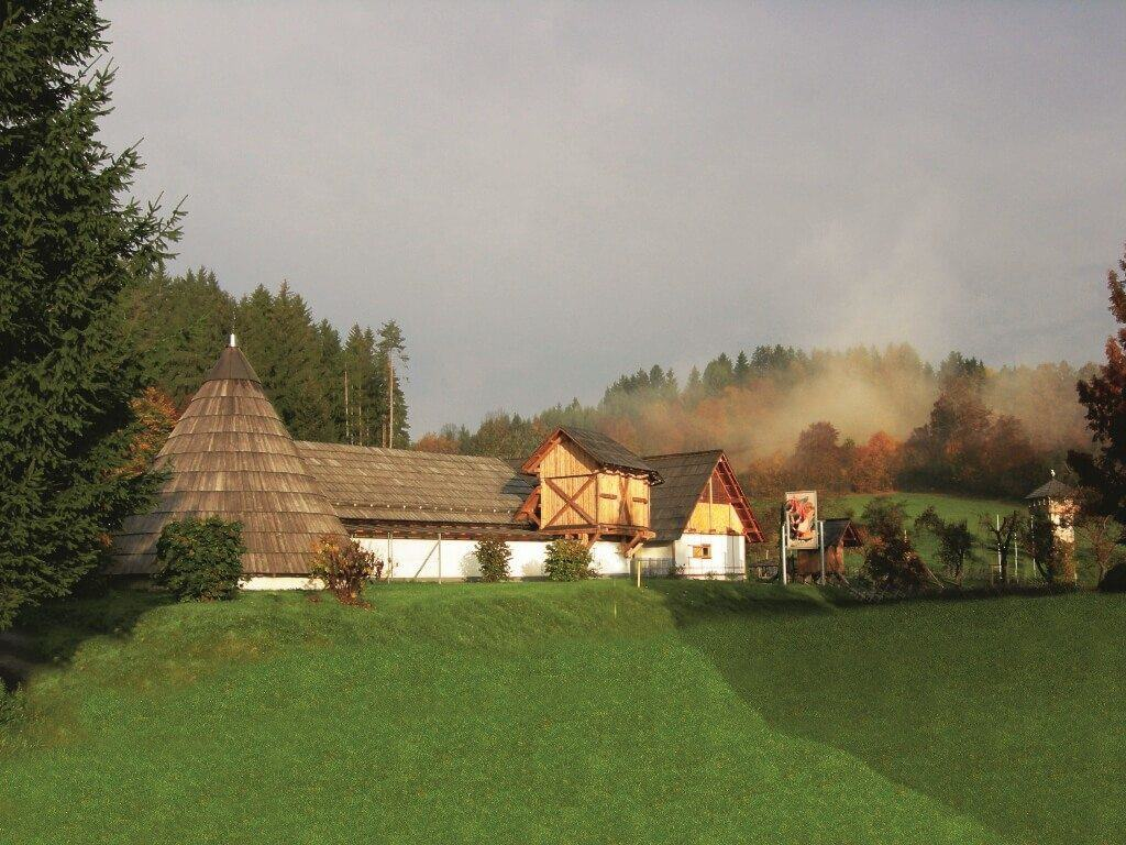 Ausflugsziel Carnica Rosental: Keltenwelt Frög in Rosegg