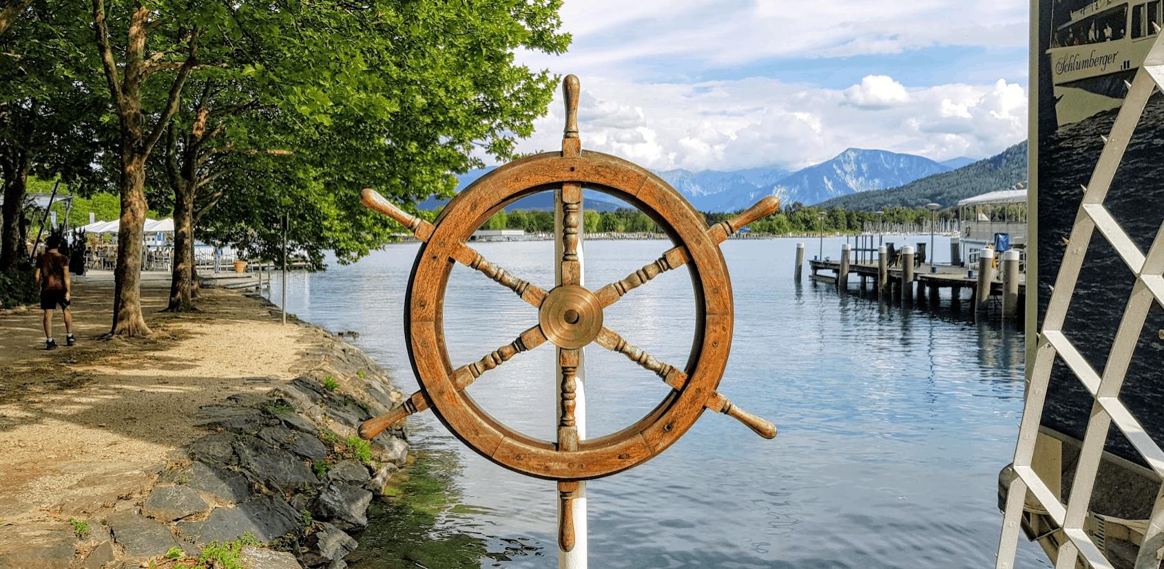 Wörthersee Schifffahrt Ostbucht Klagenfurt in Kärnten