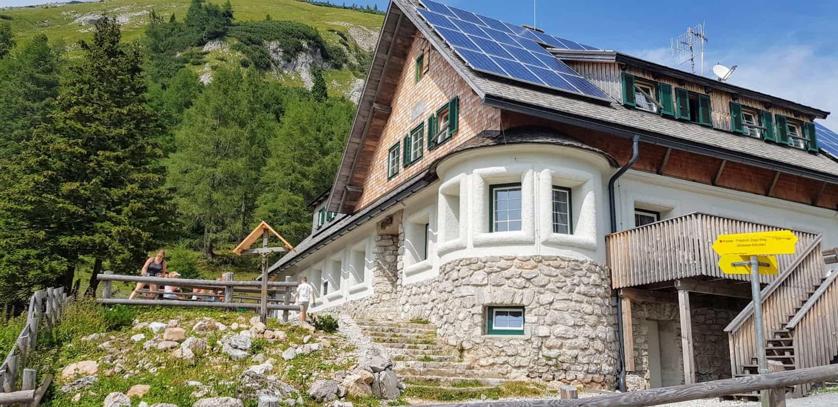 Klagenfurter Hütte in Österreich, Kärnten