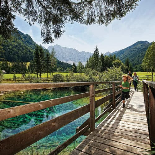 Meerauge - Ausflugsziel und Wandern Carnica Region Rosental in Kärnten