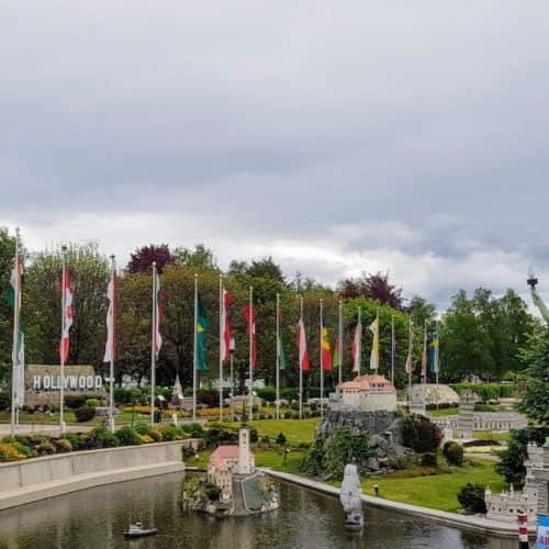 Ausflugsziel Minimundus in Klagenfurt mit Freiheitsstatue