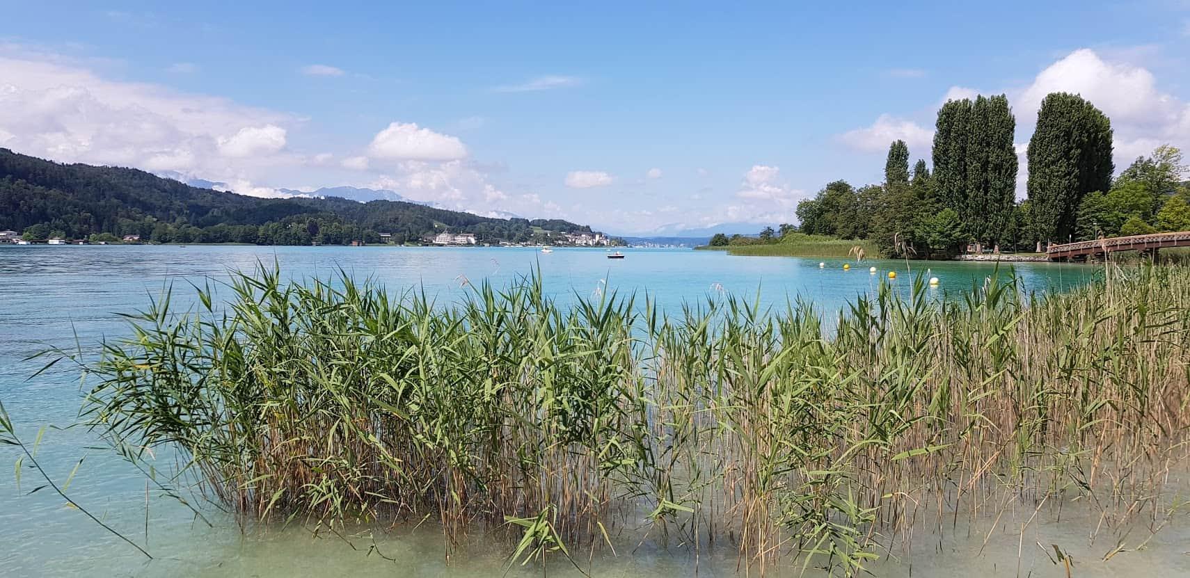 Ausflugstipp Pörtschach am Wörthersee im Sommer - Landspitz