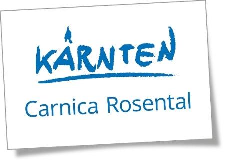 Ausflugsziele in der Urlaubsregion Rosental Carnica - Logo Region