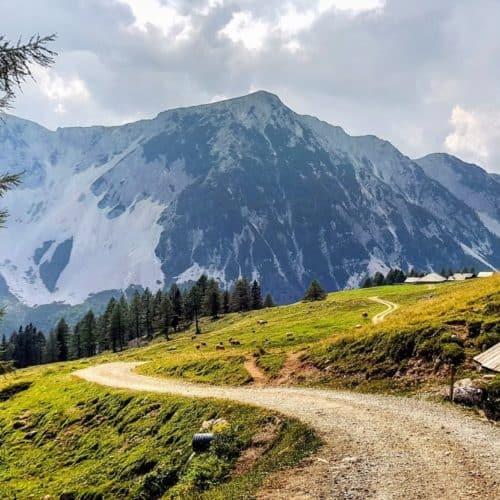 Wanderung zur Klagenfurter Hütte in den Kärntner Karawanken - Ausflugsziel im Rosental