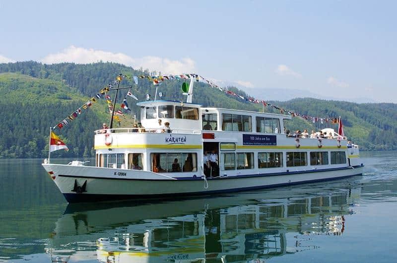 Ausflug mit Schiff am Millstätter See