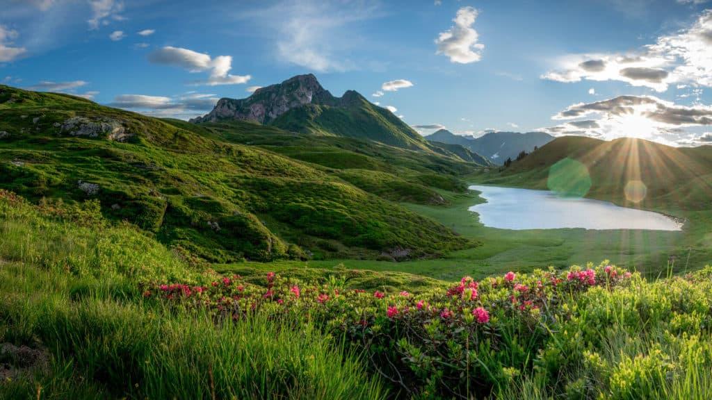 Seen und Berge Region Nassfeld Weissensee Lesachtal