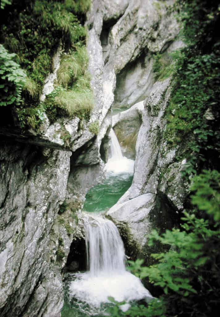 Garnitzenklamm Ausflugsziel Kärnten