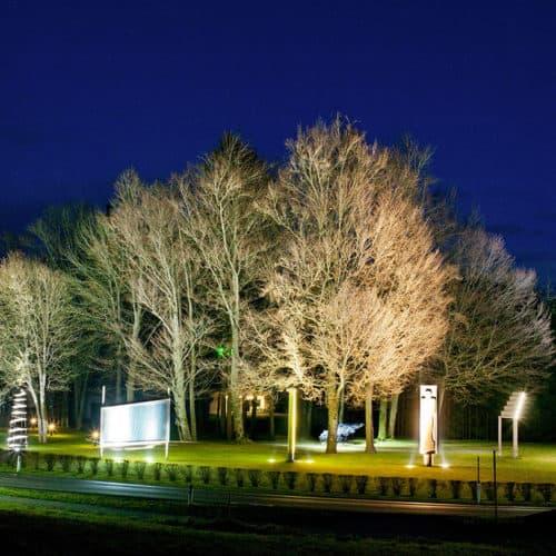 Ausflug in den Skulpturenpark Holzbau Gasser in der Carnica Region Rosental