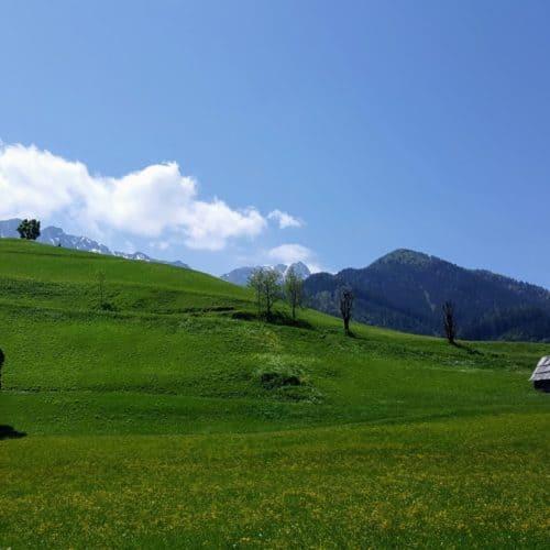 Idyllisches Bergsteigerdorf Zell Pfarre im Rosental - Geheimtipp im Kärntner Rosental