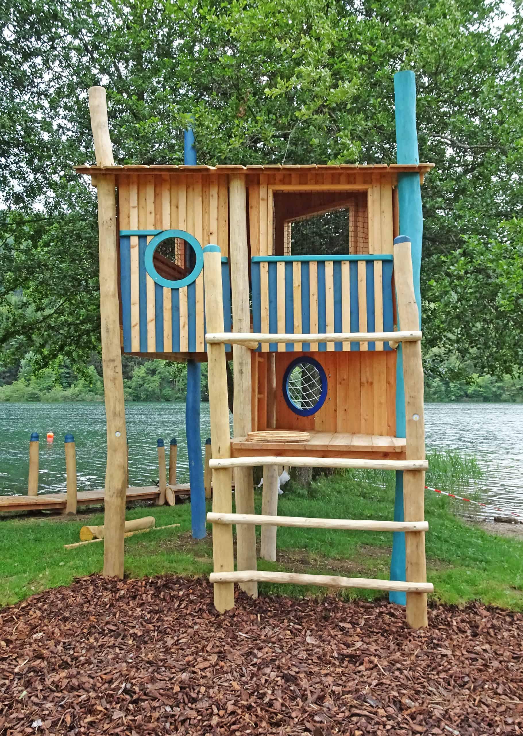 Spielplatz Rauschelesee für Kinder direkt am See - Ausflugstipp in Kärnten