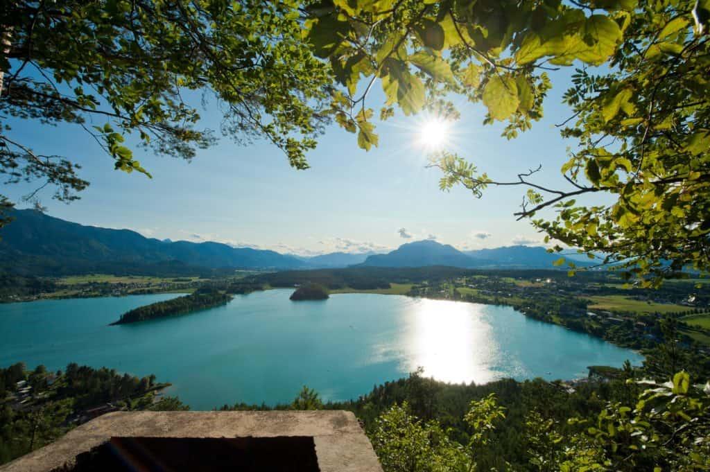 Taborhöhe in der Urlaubsregion Villach - Faaker See