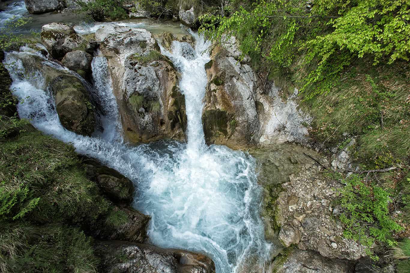 Tscheppaschlucht in Kärnten - Ausflugsziel Carnica Region Rosental Nähe Wörthersee