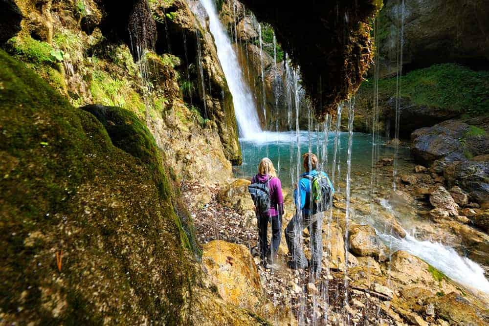 Tschaukofall in Tscheppaschlucht - Naturerlebnis & Ausflugsziel im Rosental, Kärnten