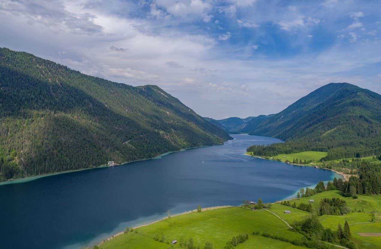 Weissensee in Kärnten - Urlaub in Österreich