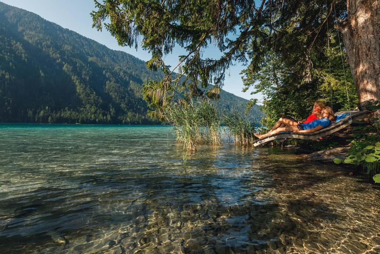 Weissensee in Kärnten - Urlaub am See