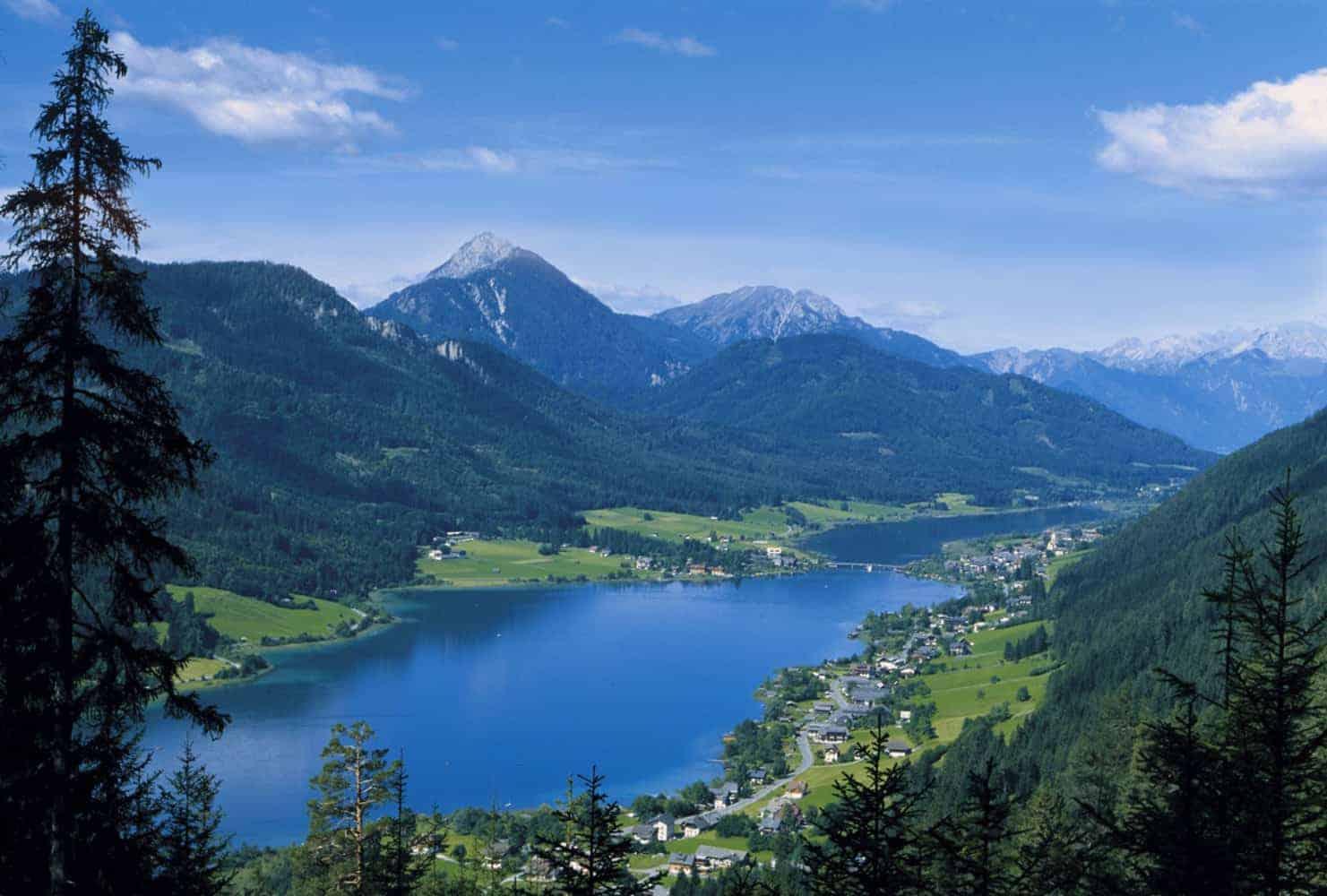 Weissensee in Österreich - Badesee in Kärnten